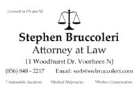 Stephen Bruccoleri, Attorney at Law