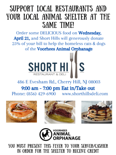 Dine-In or Take-Out at Short Hills Deli @ Short Hills Restaurant & Deli | Cherry Hill | New Jersey | United States