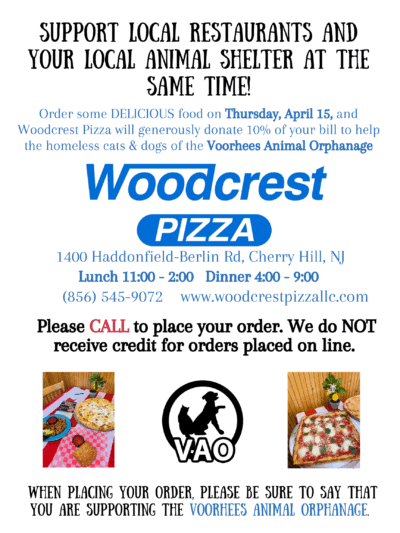 Dine-in or Take-out at Woodcrest Pizza @ Woodcrest Pizza | Cherry Hill | New Jersey | United States