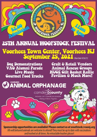 25th Annual Woofstock Festival @ Voorhees Town Center | Voorhees Township | New Jersey | United States