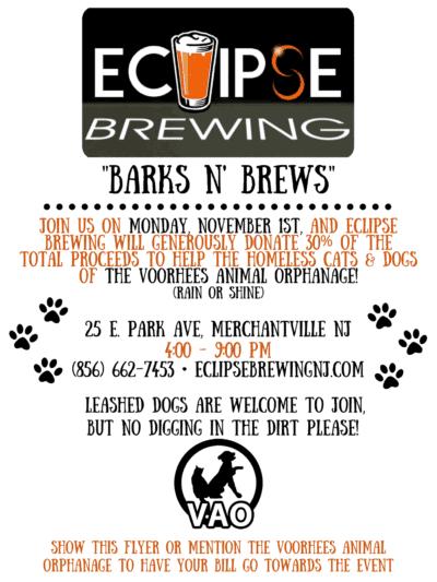 Barks N' Brews @ Eclipse Brewing | Merchantville | New Jersey | United States